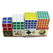 Shengshou White Base Core Cube Puzzle (pack of 4)