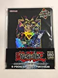 Deluxe Yu-Gi-Oh! TCG Dark Side Dimension Duelist Portfolio Yugioh Movie Album 180 Card Binder w/Double-Sided Side-Load 9-Pocket Pages Featuring YuGi & Kaiba