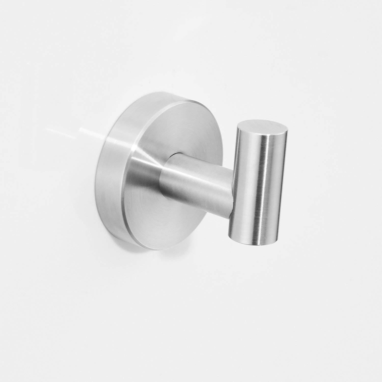 zur Wandmontage geb/ürstetes Gold Handtuchhalter Badezimmerzubeh/ör-Set 30,5 cm Bademantelhaken Toilettenpapierhalter Handtuchring