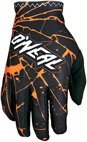 ONeal Matrix Handschuhe Enigma Schwarz Orange MX MTB DH Motocross Enduro Offroad 0388M-3
