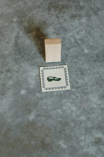 Classiky Japanese Porcelain Stamp With Cork Stamping Mat / [ 29751-01 ~ 29751-05 ] (02 / Mary Jane Shoe)