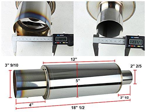Spec-D Tuning MF-RS310T Muffler Tip