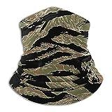 Tiger Stripe Camo Sun Uv Protection Neck Gaiter