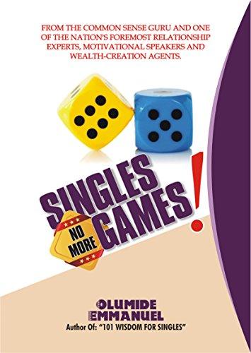 Amazon com: Singles No More Game eBook: Olumide Emmanuel