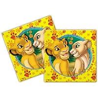 Procos Lion King 2Ply Napkin Set of 20