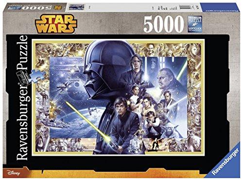 Ravensburger 17431 - Star Wars I-VI, 5000-Teilig Puzzle