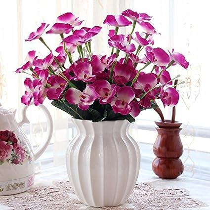 En el salón decorado con flores de emulación empaquetados salón decorado con flores decoracion swing en
