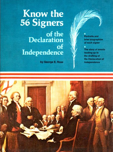 Know your Declaration of independence and the 56 signers (56 Signers Of The Declaration Of Independence)