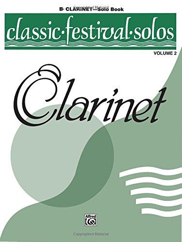Classic Festival Solos, Clarinet Solo Book, Vol. 2