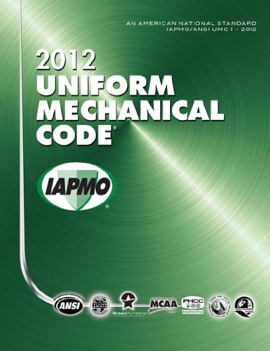 2012 uniform mechanical code association for contextual for Uniform swimming pool spa and hot tub code 2012 edition