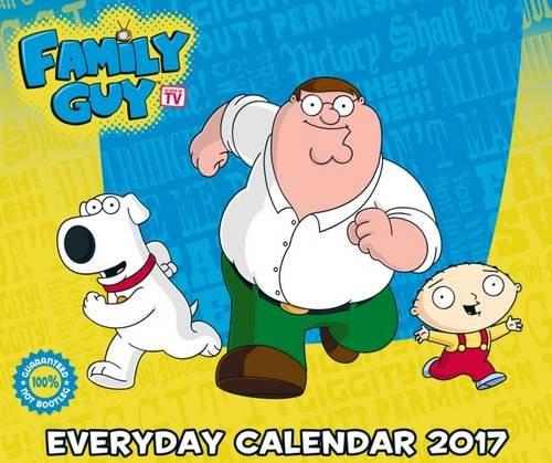 Family Guy Official 2017 Desk Block Calendar (Family Guy Desk Calendar)