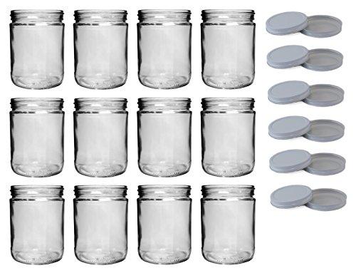16 oz canning jars - 4