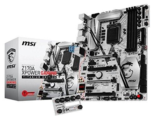 MSI Z170A XPOWER GAMING TITANIUM EDITION ATXマザーボード MB3494 B01B14R76S  Z170 ATX Z170 ATX|ゲーミング LED Intel LAN, シルバーアクセサリーラブクラフト bae9a8f1
