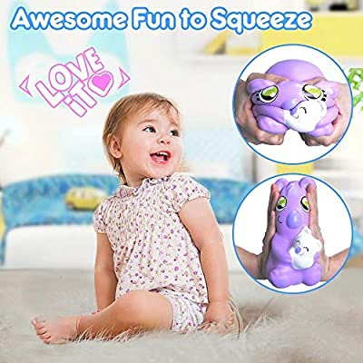 ORWINE Squishies Jumbo Squishy Toy Party Favors for Kids Boys Girls Animal Squishys Squeeze Kawaii Koala Stress Relief Toys Christmas Stocking Stuffer Birthday Gifts for Kids & Adults: Toys & Games