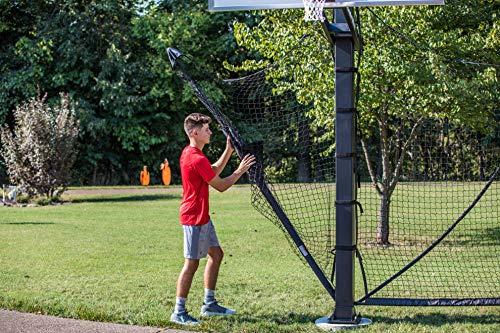 Goalrilla Basketball Yard Guard Easy Fold Defensive Net System Quickly Installs on Any Goalrilla Basketball Hoop