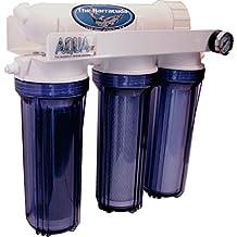 AquaFX 100 GPD Barracuda RO/DI Aquarium Filter, Clear