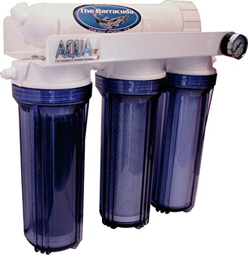 AquaFX Barracuda RO/DI Aquarium Filter, 100 GPD by AquaFX