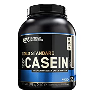 Optimum Nutrition Gold Standard 100% Casein Protein Powder, Chocolate Supreme, 4 Pound