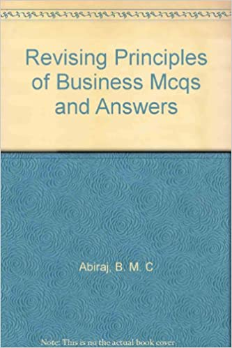 Buy Revising Principles Of Business For CXC