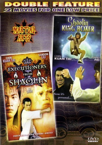 Executioners from Shaolin+Shaolin King Boxer [Slim Case]Martial Arts[Double Feature] by Liu chia Liang-Karl Maka