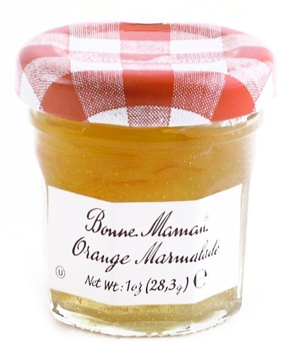 Bonne Maman Orange Marmalade Mini Jars - 1 oz x 60 pcs Kosher