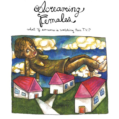 Screaming Females - What If Someone Is Watching Their TV (CD)