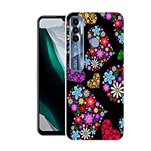 Funky Printed Back Cover for Tecno Spark 7 Pro (Design no.NS208)