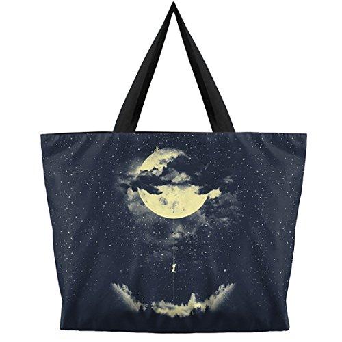 Moon hombro Eye multicolor Bolso única para cat mujer Belsen Talla al HqUwvExwa