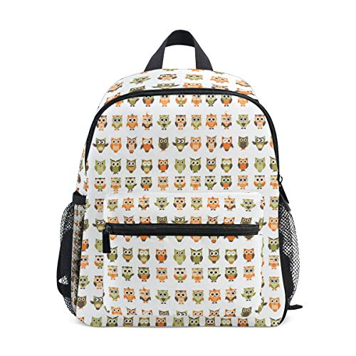 Cute Funny Owls And Owlets Set mini pack bag backpack for kids grils children adult baby