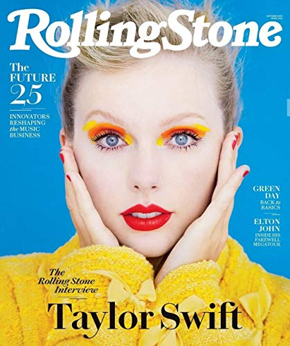 Rolling Stone Magazine (October, 2019) Taylor Swift Cover