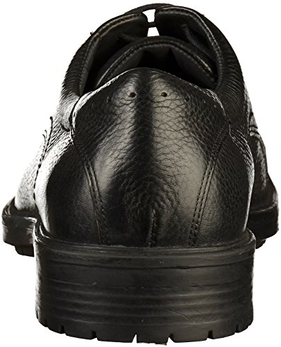 U Homme Derbys black Noir Kapsian C9999 Geox A Uqdw81O