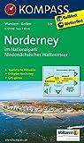 Insel Norderney: Wanderkarte mit Reitwegen und touristischen Hinweisen. GPS genau. 1:17500 (KOMPASS-Wanderkarten, Band 729)