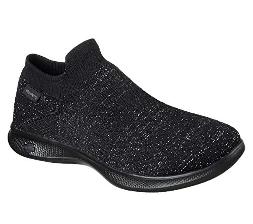 Noir Step Skechers Chaussures Femme Go Lite Flair vXPfw
