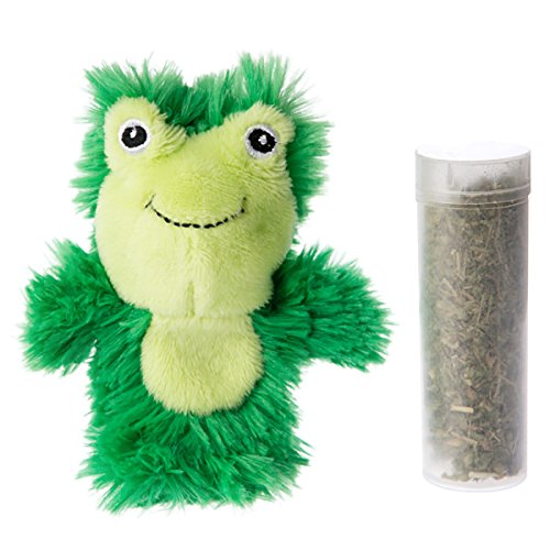 Kong Frog Cat Toy With LemonGrass