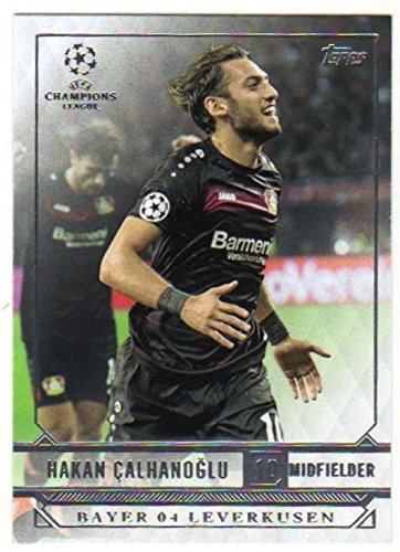 fan products of 2016-17 2017 Topps UEFA Champions League Showcase Soccer #18 Hakan Calhanoglu BAYER 04 LEVERKUSEN
