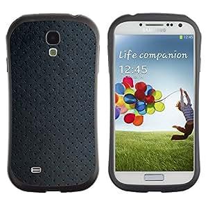 """Pulsar iFace Series Tpu silicona Carcasa Funda Case para SAMSUNG Galaxy S4 IV / i9500 / i9515 / i9505G / SGH-i337 , Papel pintado de la textura de la tela del modelo del art"""""""