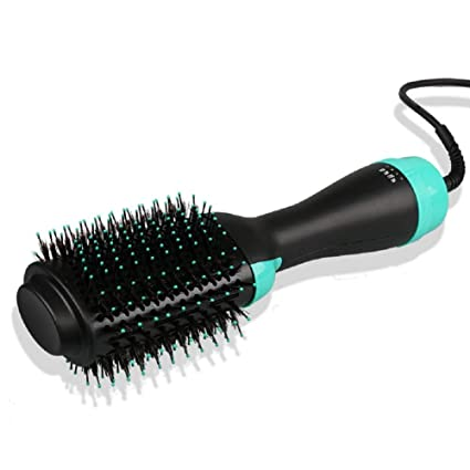 Secador de pelo Volumizer Brush Ceramic Electric Blow Dryer Hot Air Styling Peine Ion negativo Alisador