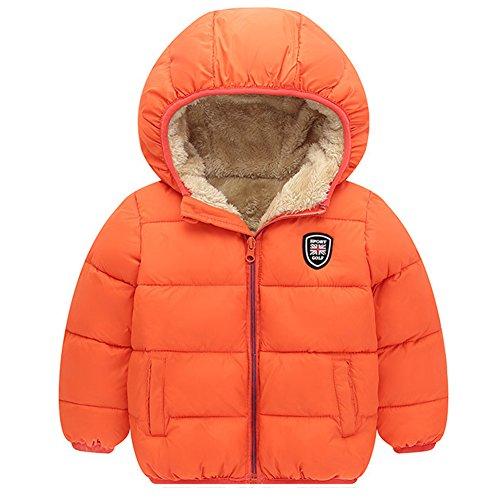 Baywell Winter Warm Coat, Little Girls Boys Outwear Hoodie ()