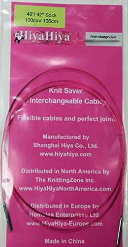 (Hiya-Hiya Sharp Steel Interchangeable Sock Knitting Needles and Accessories (60/62))