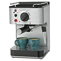 Cuisinart EM-100 1.66 cuartos de galón de acero inoxidable fabricante de espresso