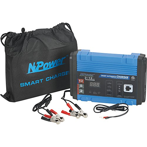 Npower Automatic Battery Charger Maintainer 2 8 12 Amp