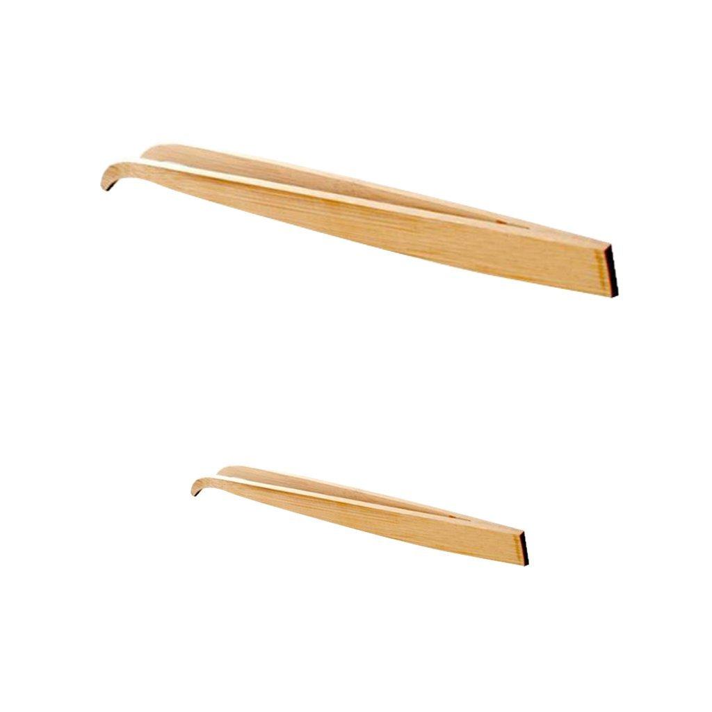 165mm /& 280mm Length Bamboo Feeding Tweezer Feeding Tongs for Reptile Angled Tip Homyl Set of 2