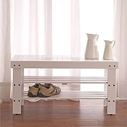 Peachy Vintage The Gray Barn Waggoner Solid Wood Entryway Shoe Bench White Pdpeps Interior Chair Design Pdpepsorg