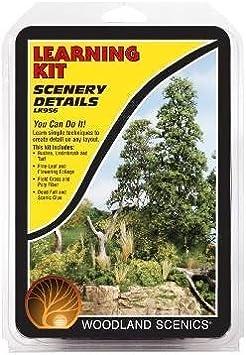 WS-LK956 Woodland Scenics Scenery Details Learnin g Kit