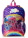 """My Little Pony Kid's """"Rainbows Sequins"""" 16-Inch Backpack, Multi"""