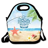 best app eve - UNERTLY Lunch Boxes The Best Summer Holidays Lunch Tote Lunch Bags