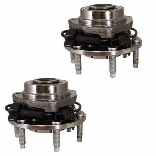 - HU513188 x 2 (Set of 2) Brand New Wheel Bearing Hub Assembly Front Left and Right Side (6 Lug) Fit 04-07 Buick RAINIER, 03-06 Chevy SSR, 02-09 TRAILBLAZER, 02-09 GMC ENVOY