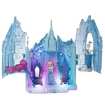 palais lumires magiques la reine des neiges le palais delsa