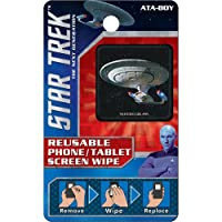 Ata-Boy Star Trek Next Generation Reusable Phone and Tablet Screen Wipe Starship Enterprise