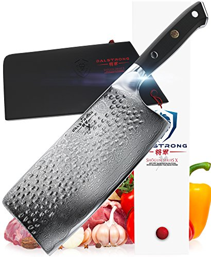 DALSTRONG Cleaver - Shogun Series X - AUS-10V- Vacuum Treated - 7